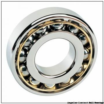 3.543 Inch | 90 Millimeter x 4.528 Inch | 115 Millimeter x 0.748 Inch | 19 Millimeter  CONSOLIDATED BEARING 3818-2RS  Angular Contact Ball Bearings