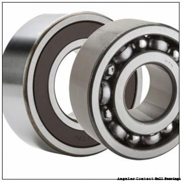 3.74 Inch | 95 Millimeter x 6.693 Inch | 170 Millimeter x 2.189 Inch | 55.6 Millimeter  CONSOLIDATED BEARING 5219 M  Angular Contact Ball Bearings